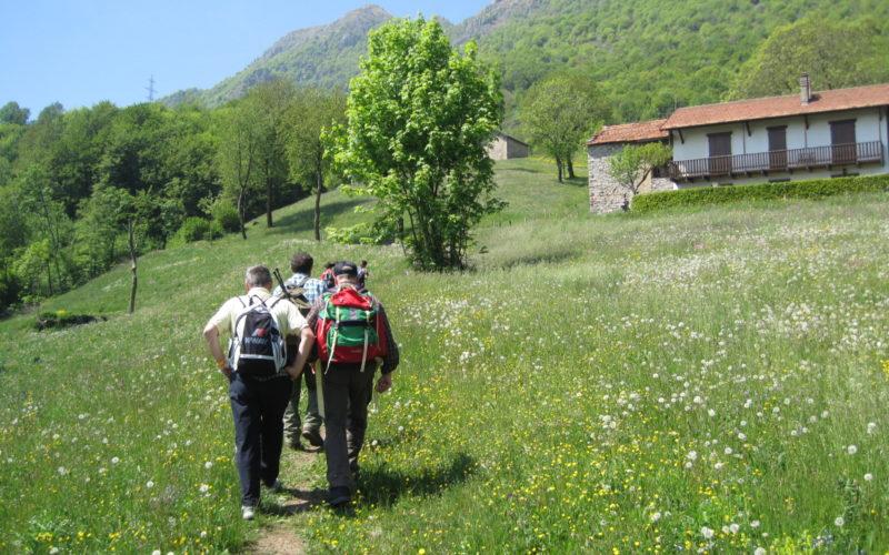 TAPPA 42 – 22 luglio – da Rifugio Alpinisti Monzesi (LC) a Alpe Costa del Palio (LC)