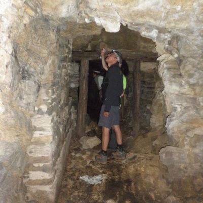 Osservatorio in caverna al Sasso Gordona.